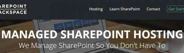 Our New Rebranded SharePoint Website: sharepoint.rackspace.com