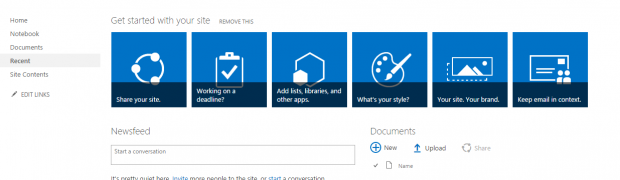 What's new for UI in the SharePoint Server 2016 IT Preview